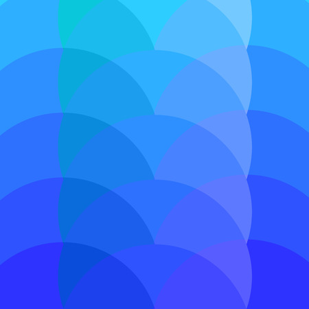 spot the difference: Abstract background based on circles in blue colors