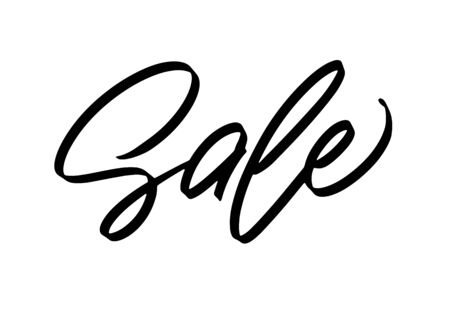 Modern lettering Sale for ads, posters, banner Ilustracja