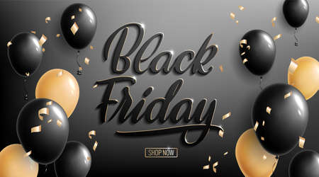 Black Friday lettering. Ad, poster, sign board design layout. Handwritten lettering. ? ursive.