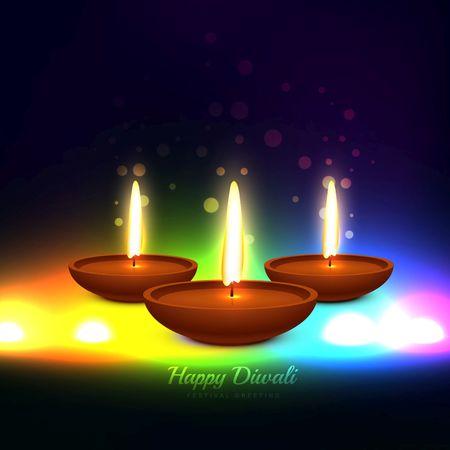 Colorful diwali festival greeting card design illustration royalty colorful diwali festival greeting card design illustration stock vector 50771476 m4hsunfo