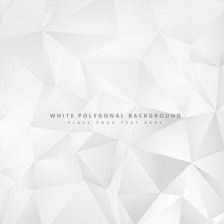 clean minimal white geometrical background design