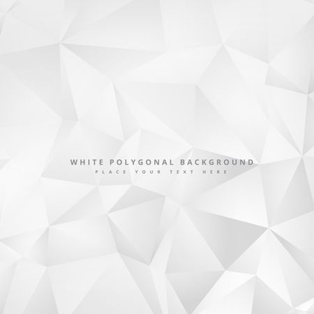 clean minimal white geometrical background design