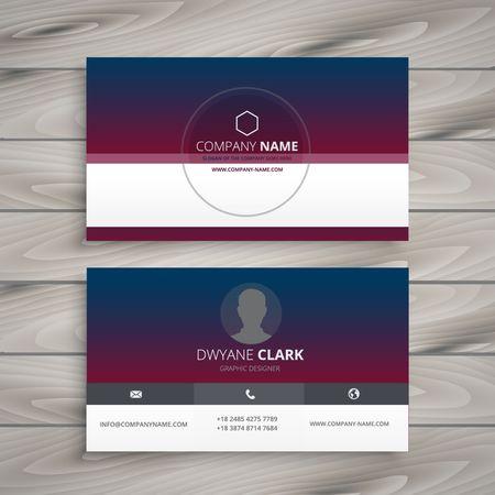 visit: clean visit card