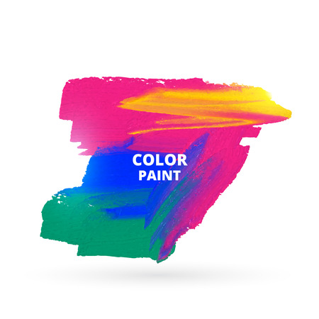 stain: colorful paint stain