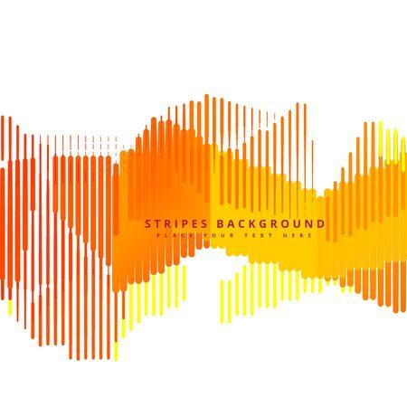 stripes: yellow stripes background Illustration
