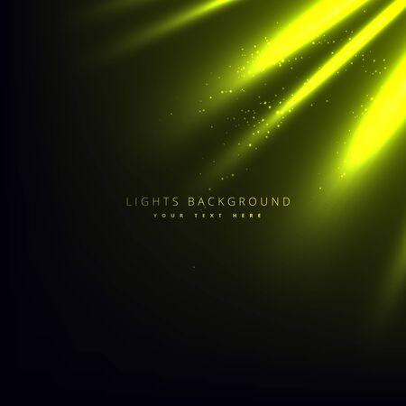 rays light: green light rays