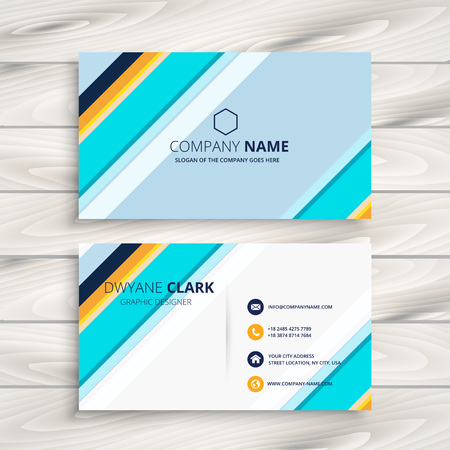 modern business: modern abstract business card
