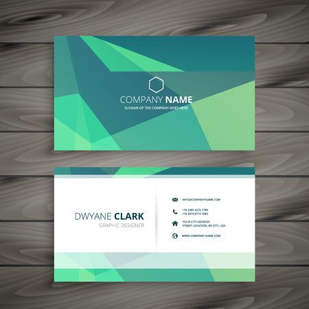 modern business: modern business card