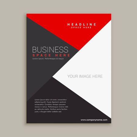minimal: modern minimal brochure design template