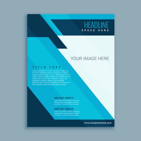 modern business: abstract modern business brochure