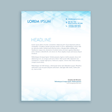 coporate business letterhead