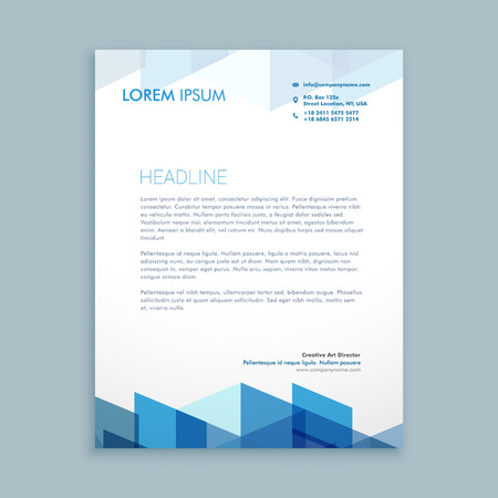 Modern letterhead template royalty free cliparts vectors and stock modern letterhead template stock vector 55397987 thecheapjerseys Image collections