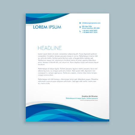 letterhead: business style corporate letterhead