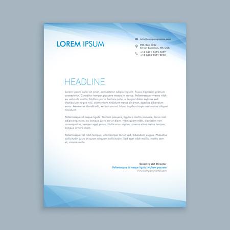 letterhead: business letterhead Illustration