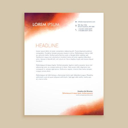 Corporate business briefpapier Stockfoto - 55398281
