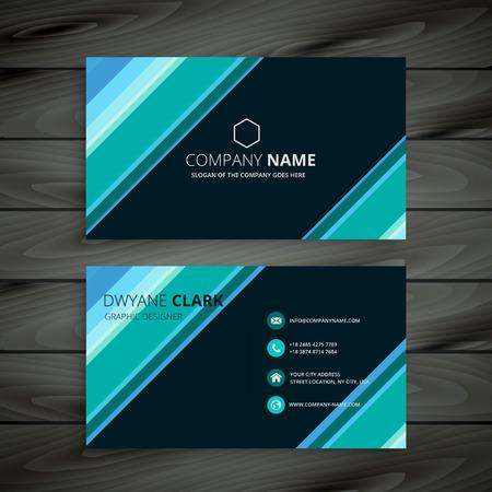 modern business: modern corporate business card template