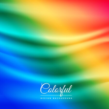 cloth: colorful cloth background Illustration