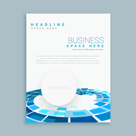 abstract business brochure template