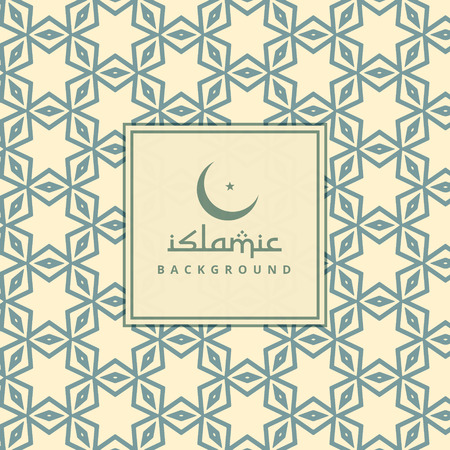 background pattern: arabic culture pattern background
