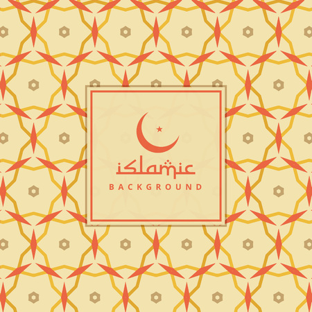 islamic pattern: islamic background with colorful pattern