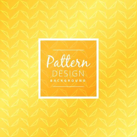 seamless pattern: seamless yellow pattern Illustration