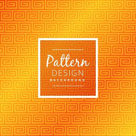 seamless pattern: elegant yellow seamless pattern Illustration