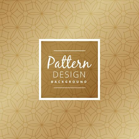 luxuries: abstract shapes pattern design