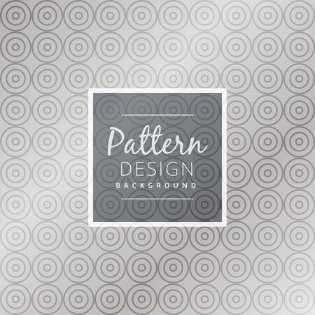 seamless pattern: gray circular seamless pattern