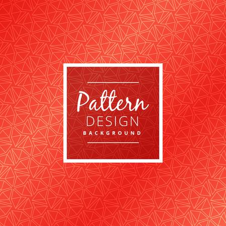creative red pattern design Stock Illustratie