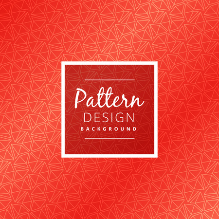 creative red pattern design Ilustracja