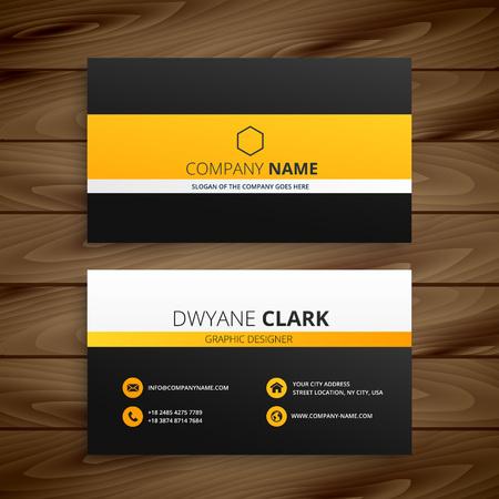 are modern: modern business card template Illustration