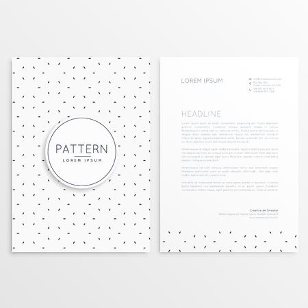 minimal: clean minimal letterhead template