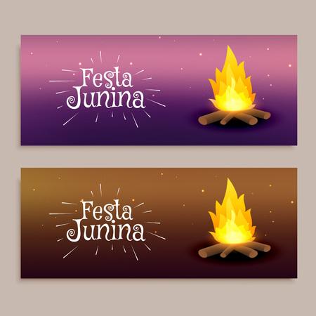 june: June Festival festival banners