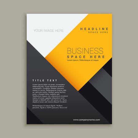 minimal: modern minimal business brochure