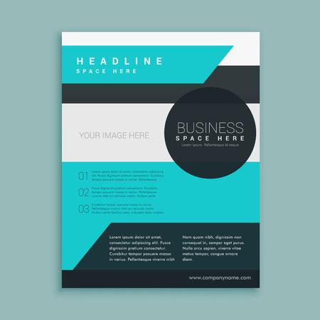 magazine template: business magazine template design