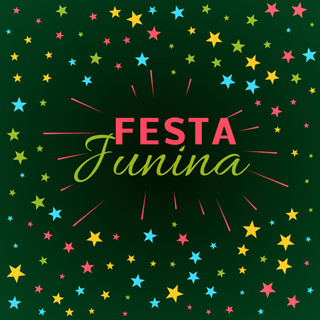 latin american: June Festival latin american holiday illustration Illustration