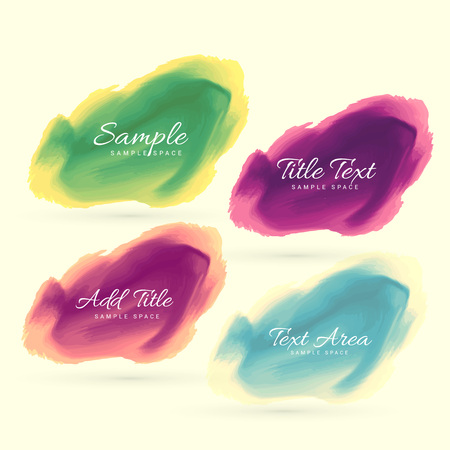 ink stain: ink watercolor stain vector design illustration