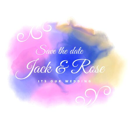 color stain: water color stain wedding background