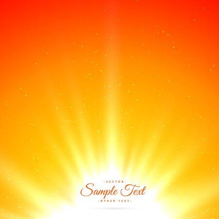 bright shiny sunburst background
