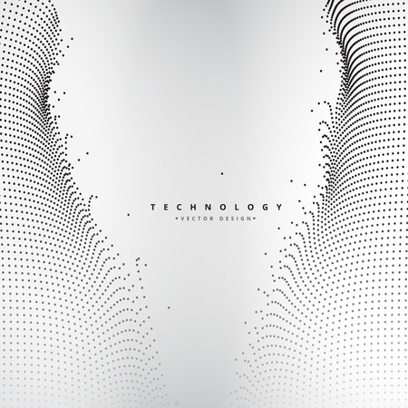 mesh: abstract technology dots mesh