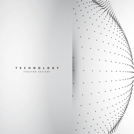 mesh: circular mesh Illustration