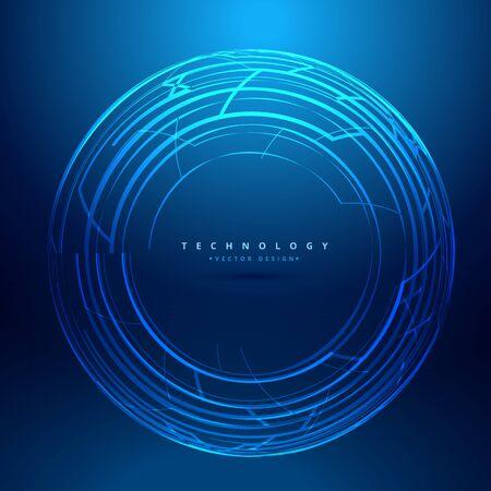 sphere: technology sphere background