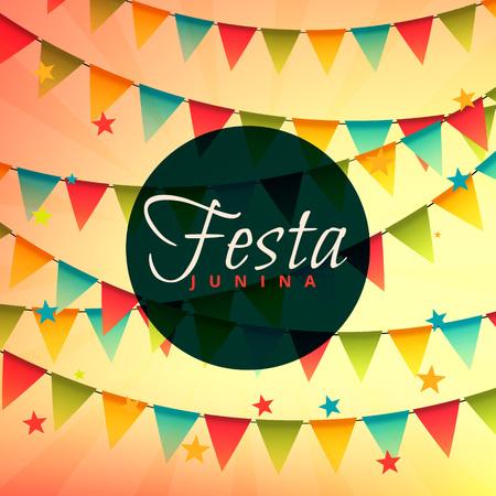 festa: beautiful festa junina backgorund Illustration