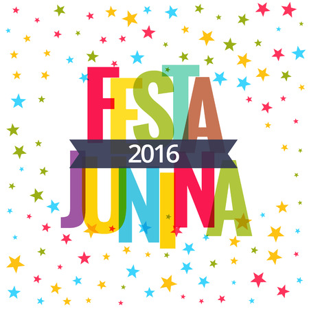 festa: festa junina 2016 celebration background Illustration