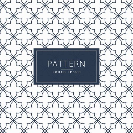 minimal: creative minimal pattern background Illustration
