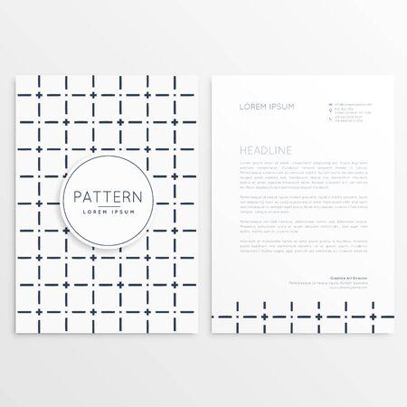minimal: minimal company brochure template