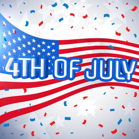 celebration background: 4th of july celebration background Illustration