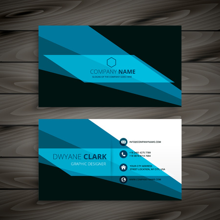 business card: abstract creative business card