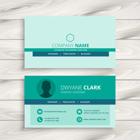 business card: business card template design