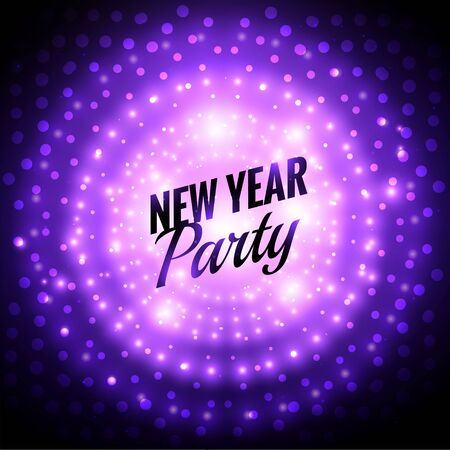new year party: new year party design Illustration